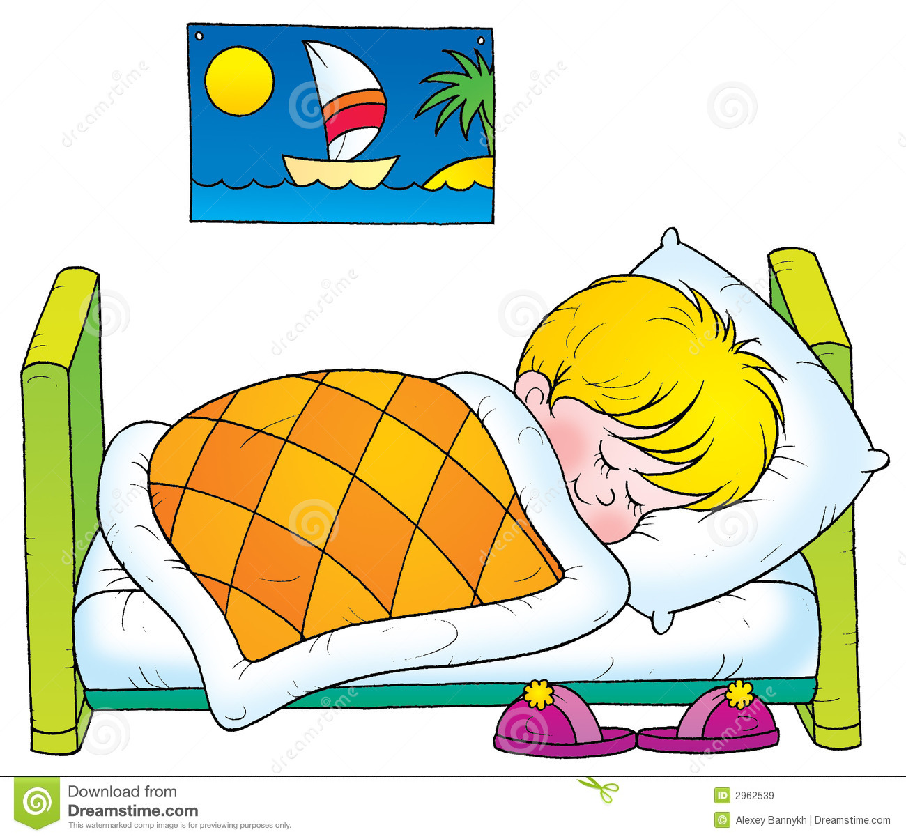 Sleep Good Health Clipart #1