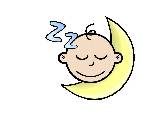 Sleeping Baby Clip Art At Clker Com Vector Clip Art Online Royalty