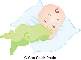 Sleeping Baby Clip Art ... Canstock60057-Sleeping baby clip art ... canstock6005728.jpg-12