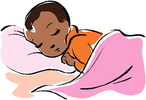 Sleeping Baby Clip Art