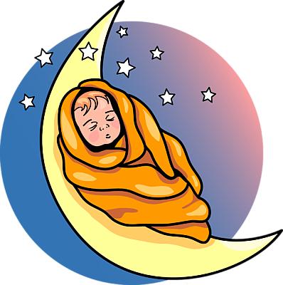 Sleeping Baby Clipart