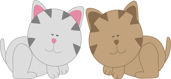 Cute Kitten Clipart Clipart P