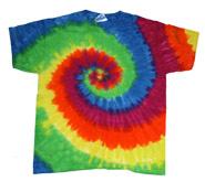 Sleeve Tie Dye T-Shirt .