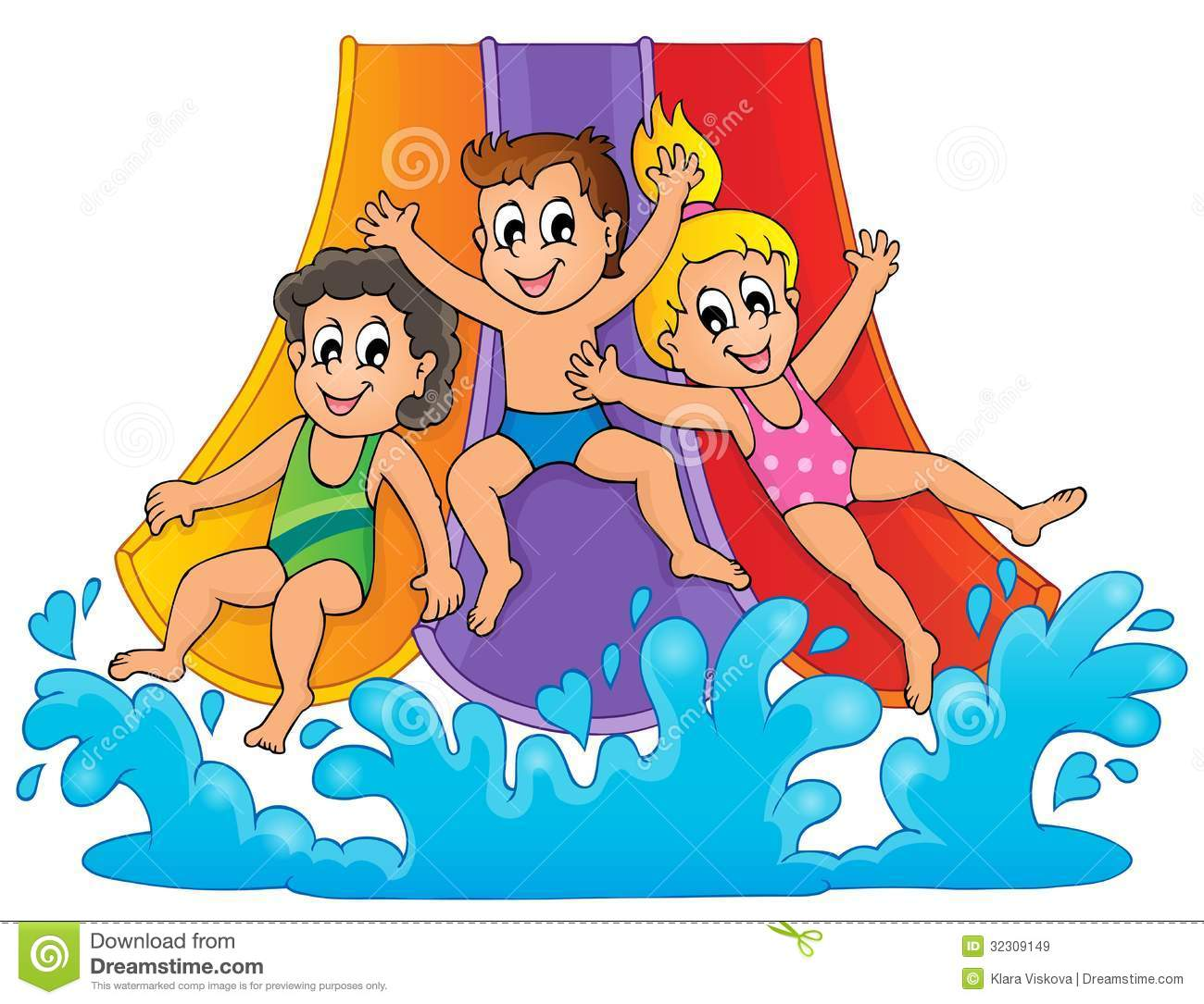 Slip And Slide Water Clipart-Slip And Slide Water Clipart-7