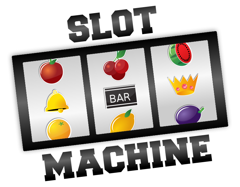 Slot Machine Las Vegas Clipart