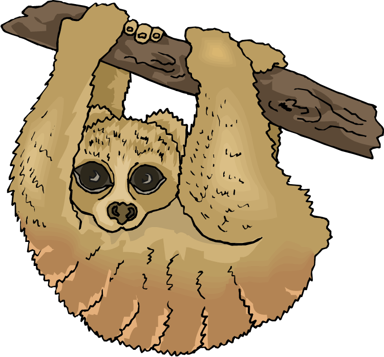 Sloth Clipart-Sloth Clipart-13