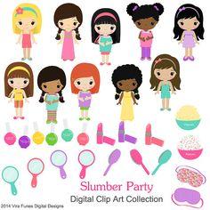 Slumber Party Girls Children .-Slumber Party girls Children .-19