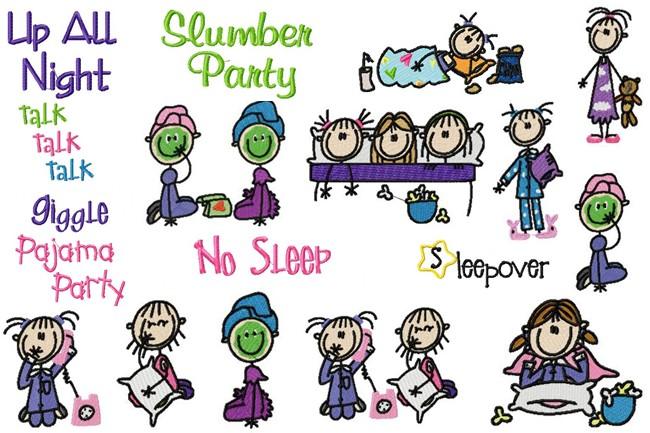 Slumber Party Sticks Sleepover Sticks Ar-Slumber Party Sticks Sleepover Sticks Artwork From Jd S Clipart I Have-4
