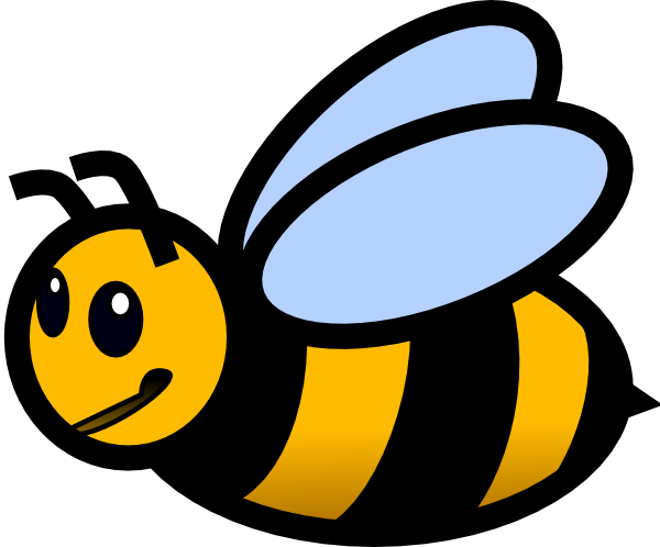 Small Bee Clip Art Clipart Pa - Clip Art Bee