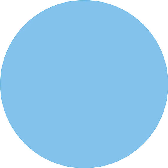 Small Blue Dot Clipart