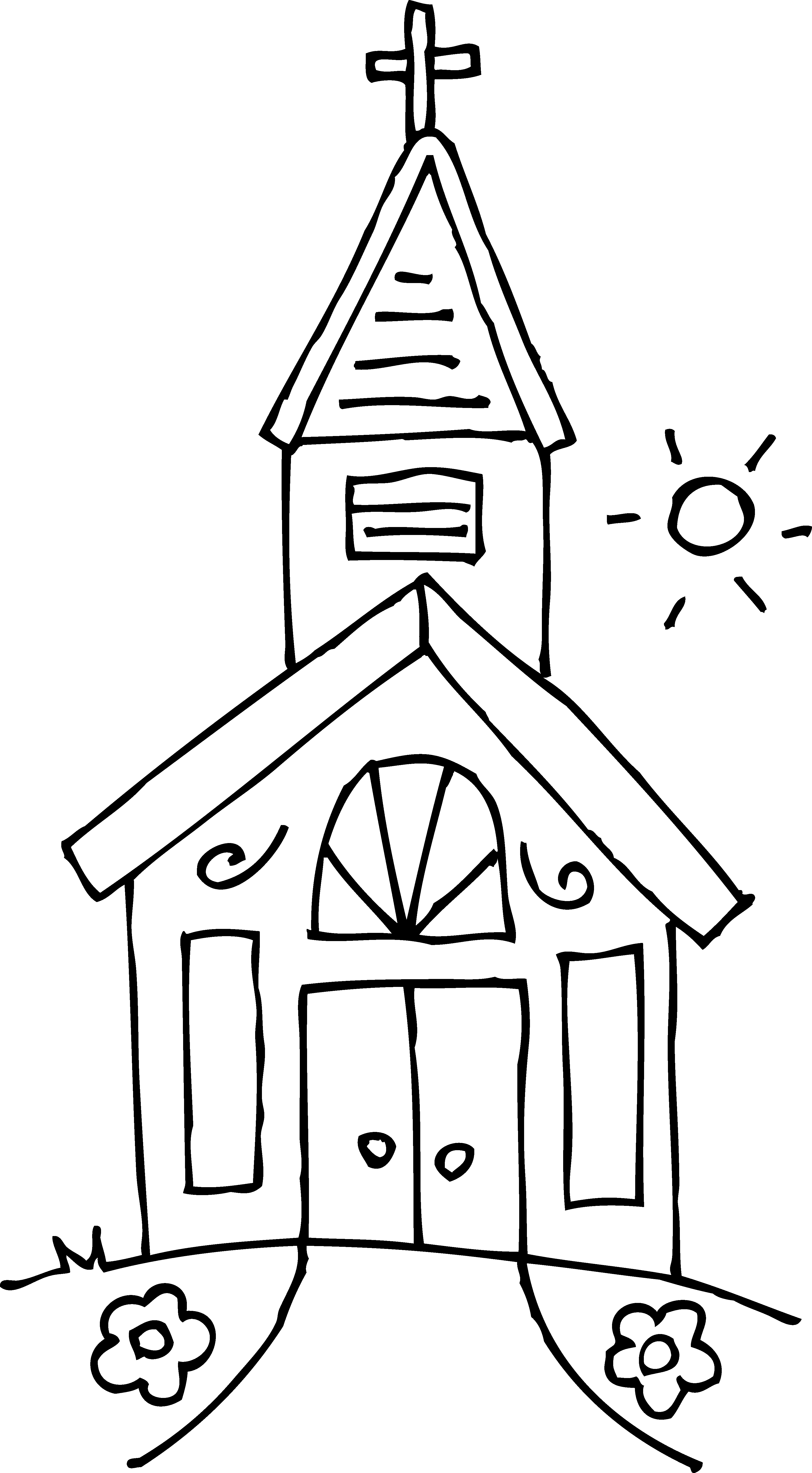 Small church clip art dromgfd - Free Church Clipart