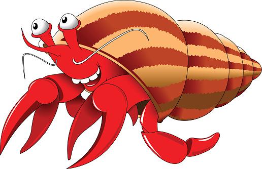 ... Small Crab Clip Art, Vector Images u0026amp; Illustrations ...