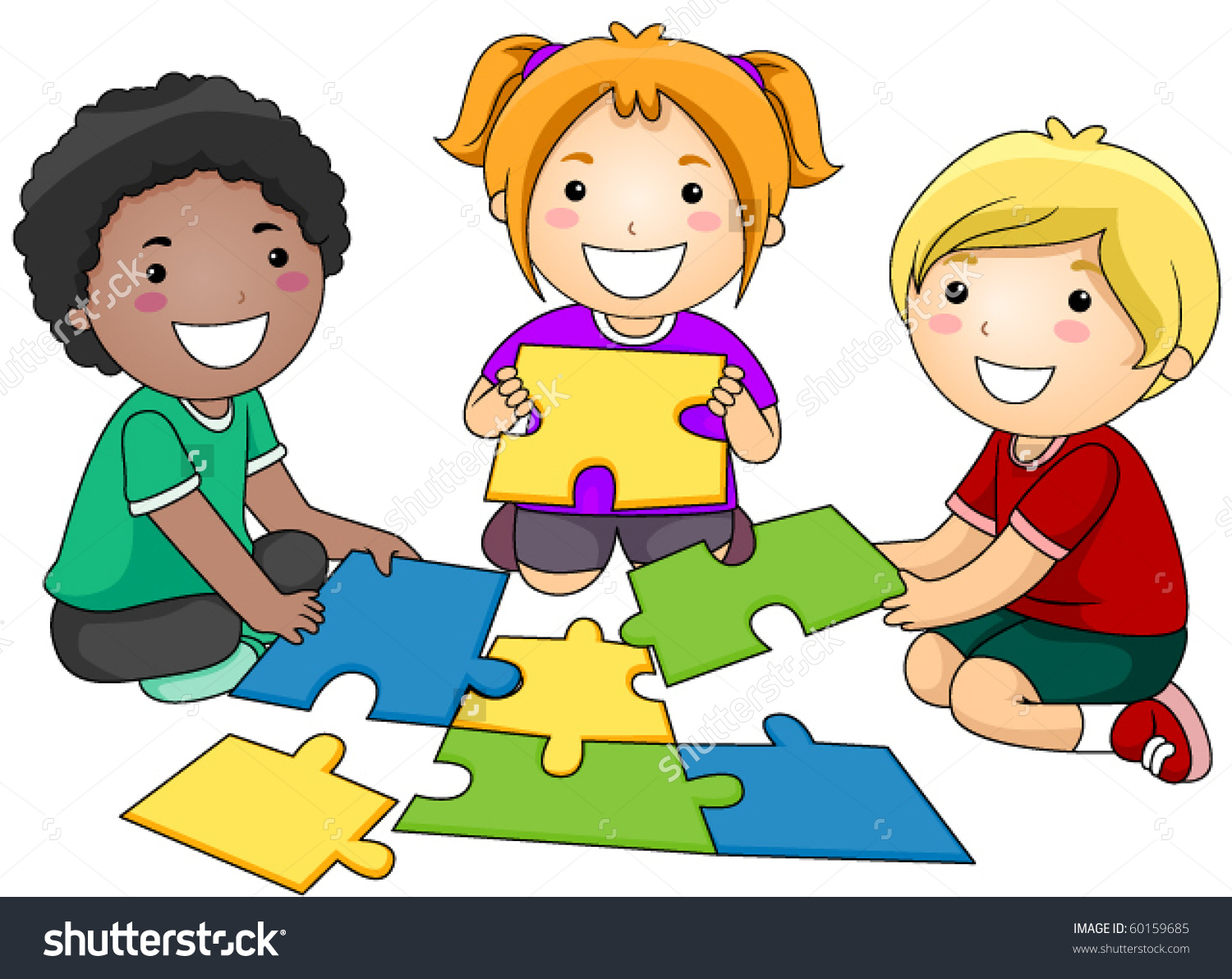 Small Group Of Kids .-Small Group Of Kids .-6