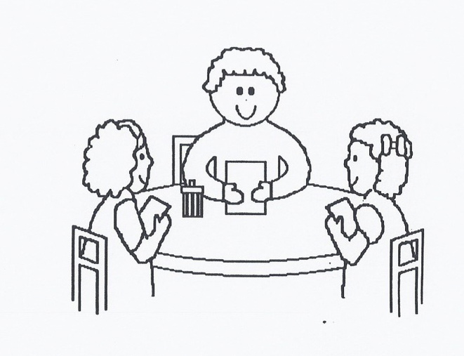 Small Group Table Clipart .