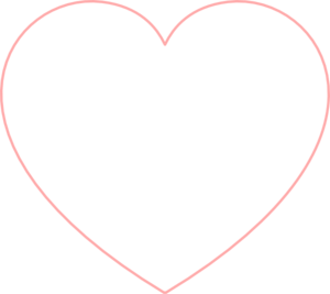 Small Heart Outline Clipart #1-Small Heart Outline Clipart #1-9