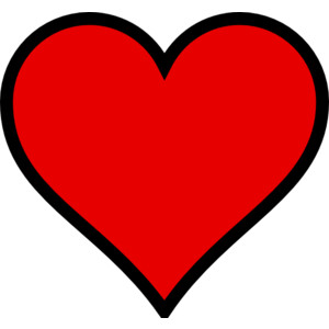 Small Red Heart With .-Small Red Heart With .-11
