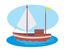 Small Wooden Sail Boat Clipart 14. Size: 112 Kb