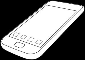 Smartphone clip art - ClipartFest