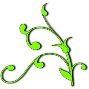 smear clipart - Vine Clip Art