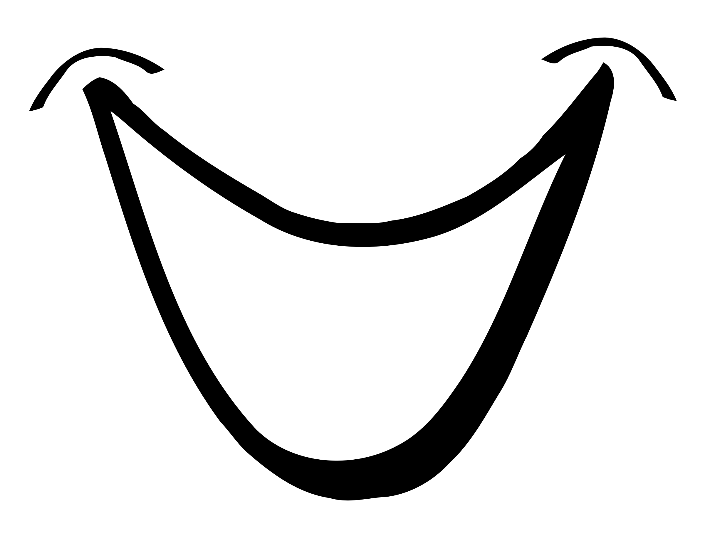 Smile Clipart Black And White-smile clipart black and white-14