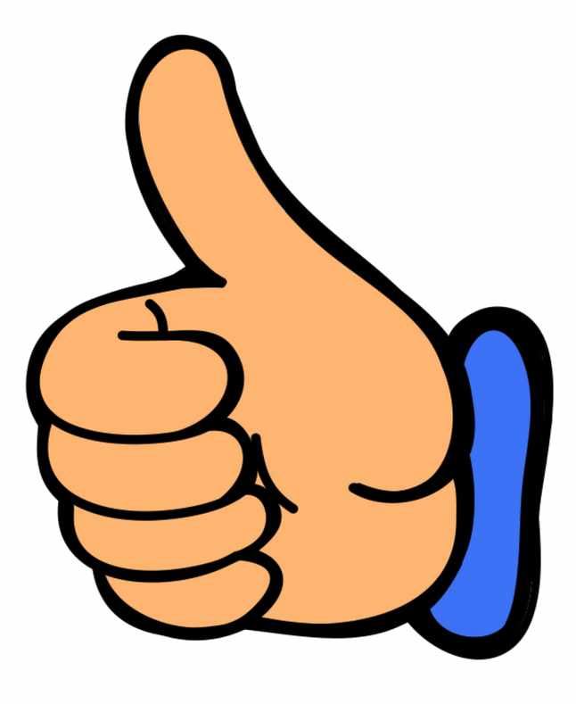 Smile Thumbs Up Clip Art Clipart Image 0-Smile thumbs up clip art clipart image 0-4