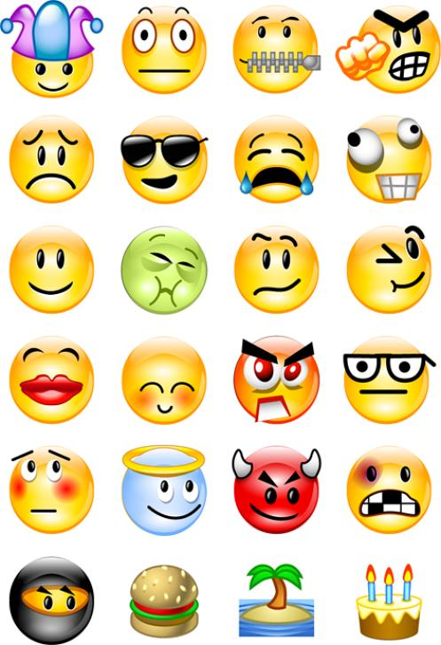 smiley face clip art emotions - Emotion Faces Clip Art