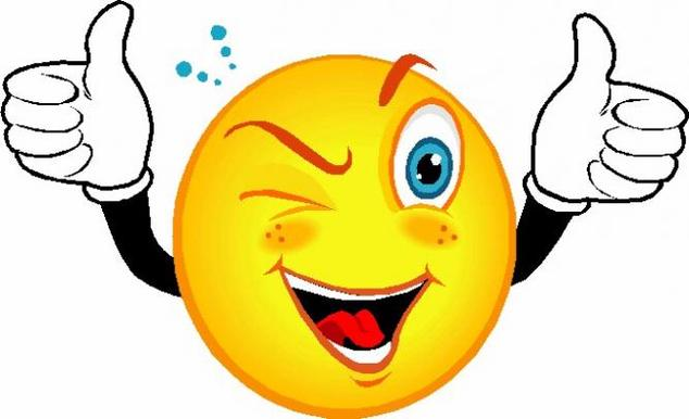 Smiley clipart free - .