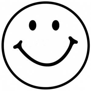 Smiley Face Black And White Free Clipart-Smiley Face Black And White Free Clipart Images-12