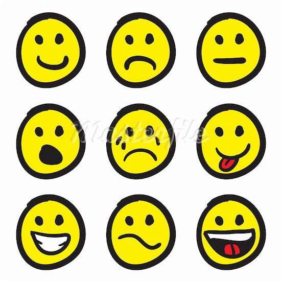 Smiley Face Clip Art Emotions-smiley face clip art emotions-18