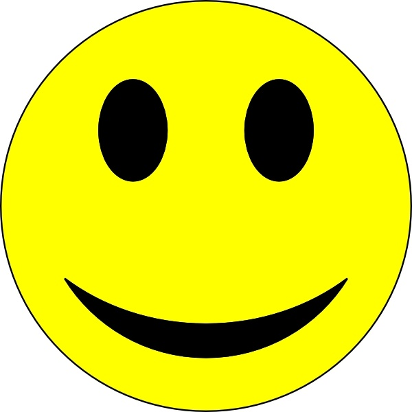 Smiley Face clip art Free vector 63.30KB