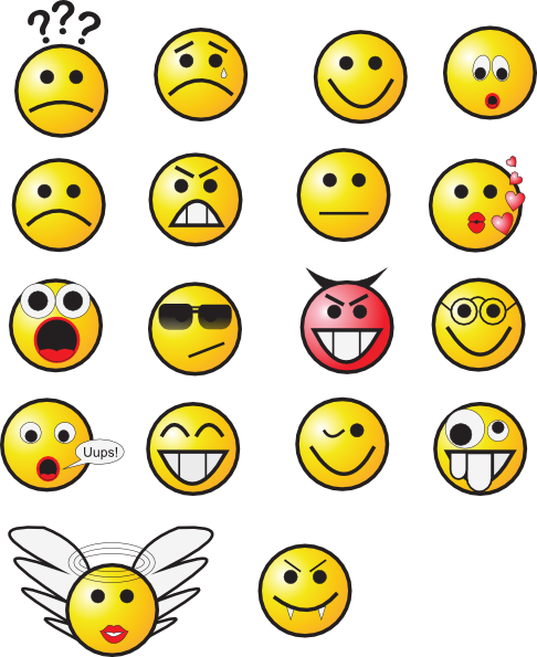 Smiley Face Clip Art | Smiley .