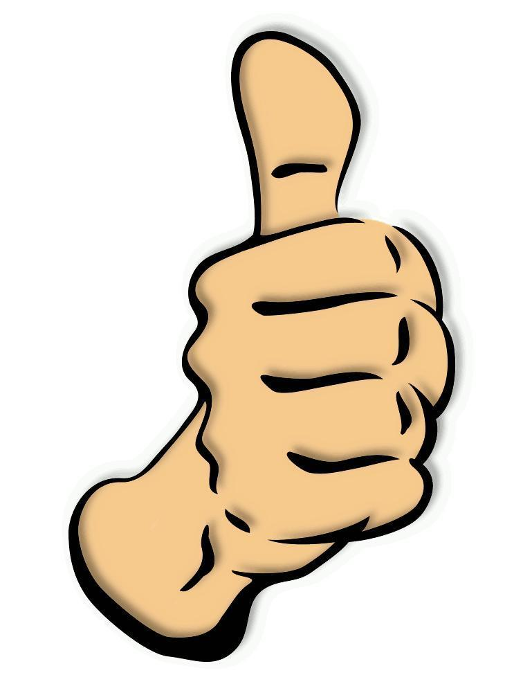 Smiley face clip art thumbs up free clipart images 2 2