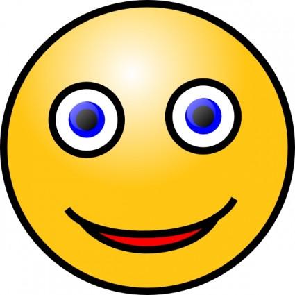 Smiley Face Clip Art Vector Clip Art - F-Smiley Face clip art Vector clip art - Free vector for free download-16