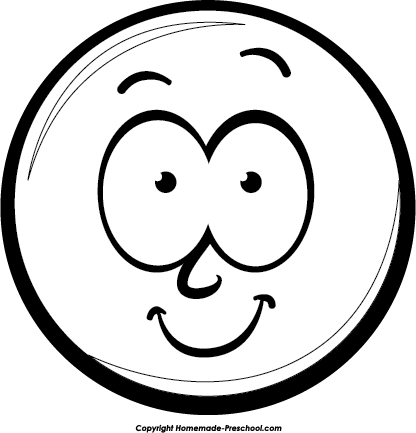 Smiley Face Clipart Black And White Face-Smiley Face Clipart Black And White Face Clip Art Black And Whiterofl-16