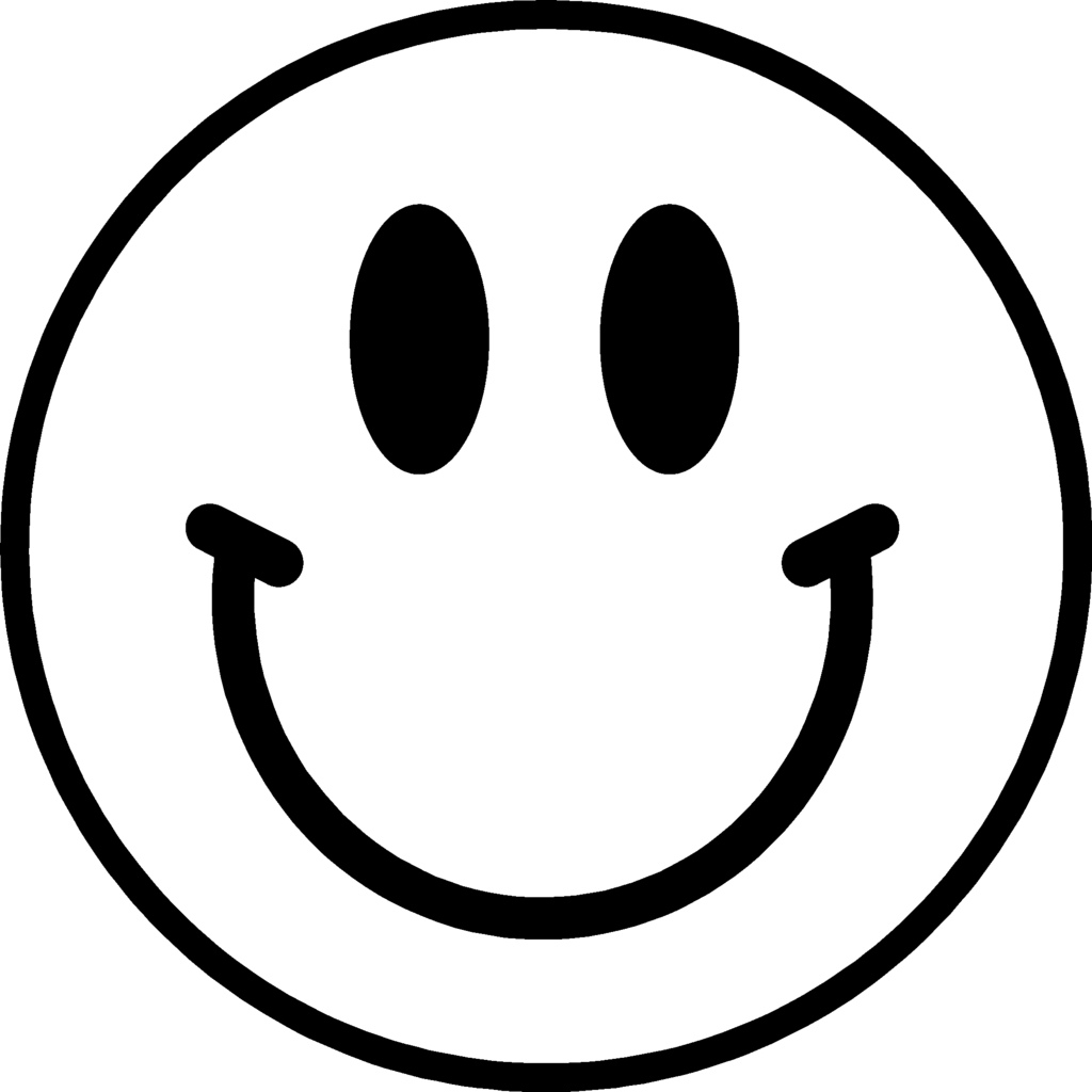 Smiley face clipart - ClipartFest