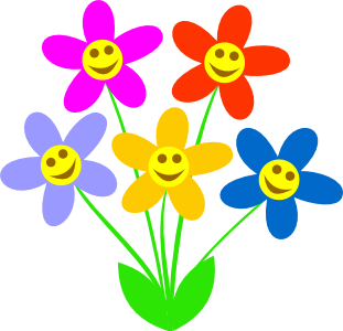Smiley Face Flower Clipart Clipart Panda-Smiley Face Flower Clipart Clipart Panda Free Clipart Images-6