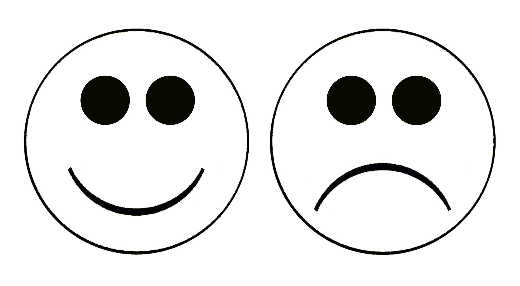 Smiley Face Sad Face Clipart-Smiley face sad face clipart-17