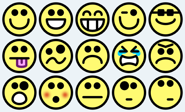 Smiley Face Small Happy Face Clipart-Smiley face small happy face clipart-16
