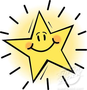 Smiley Face Star Clipart Clip - Super Star Clip Art