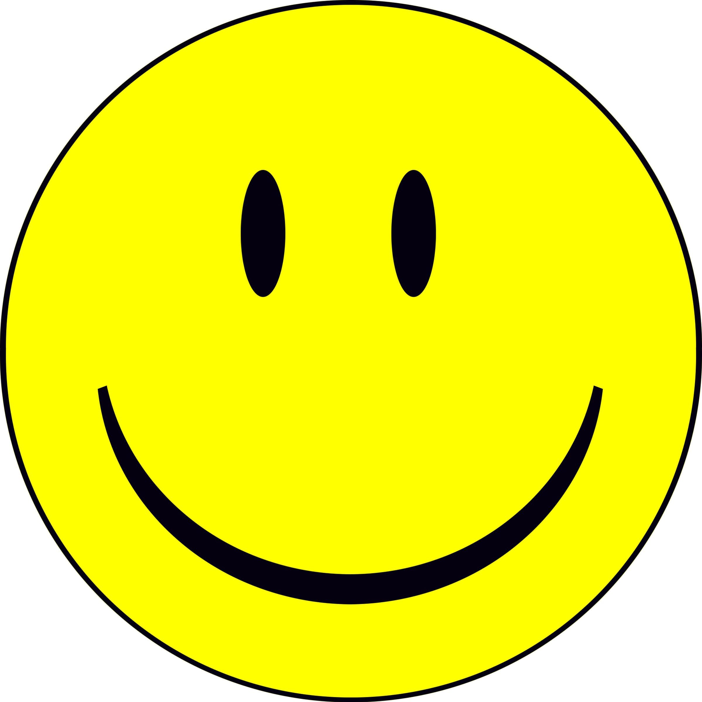 Smiley Happy Clipart #1