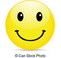 ... Smiley icon on white background