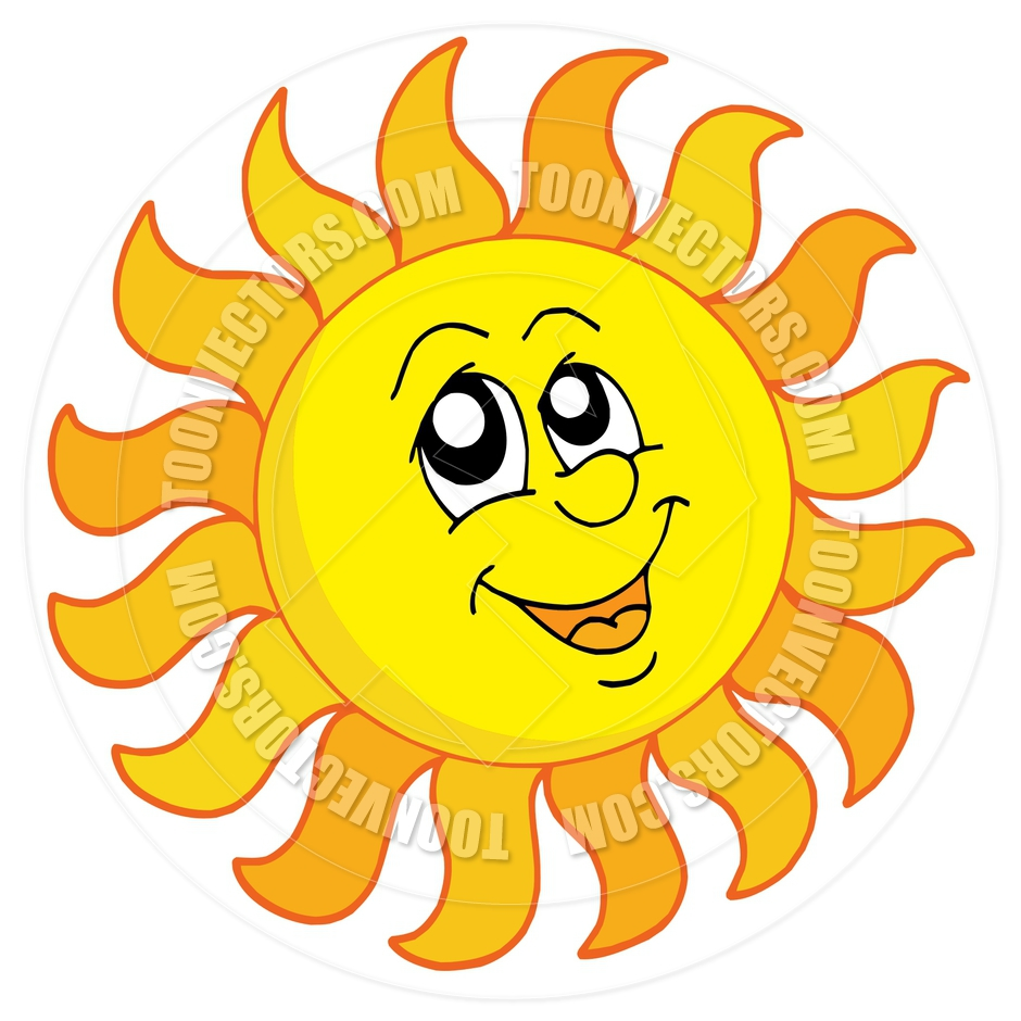 smiling sun clipart royalty free