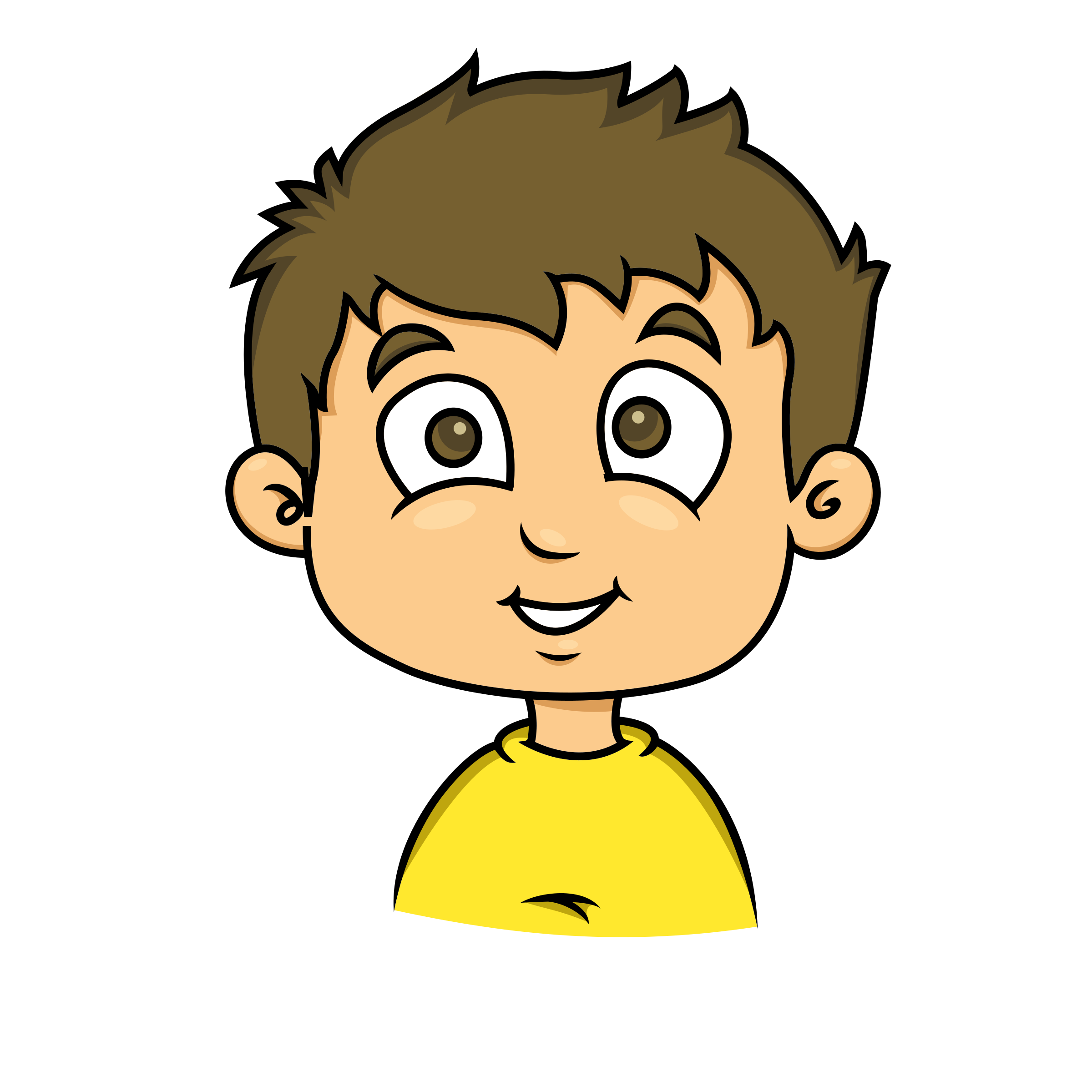 smiling face of a child 2