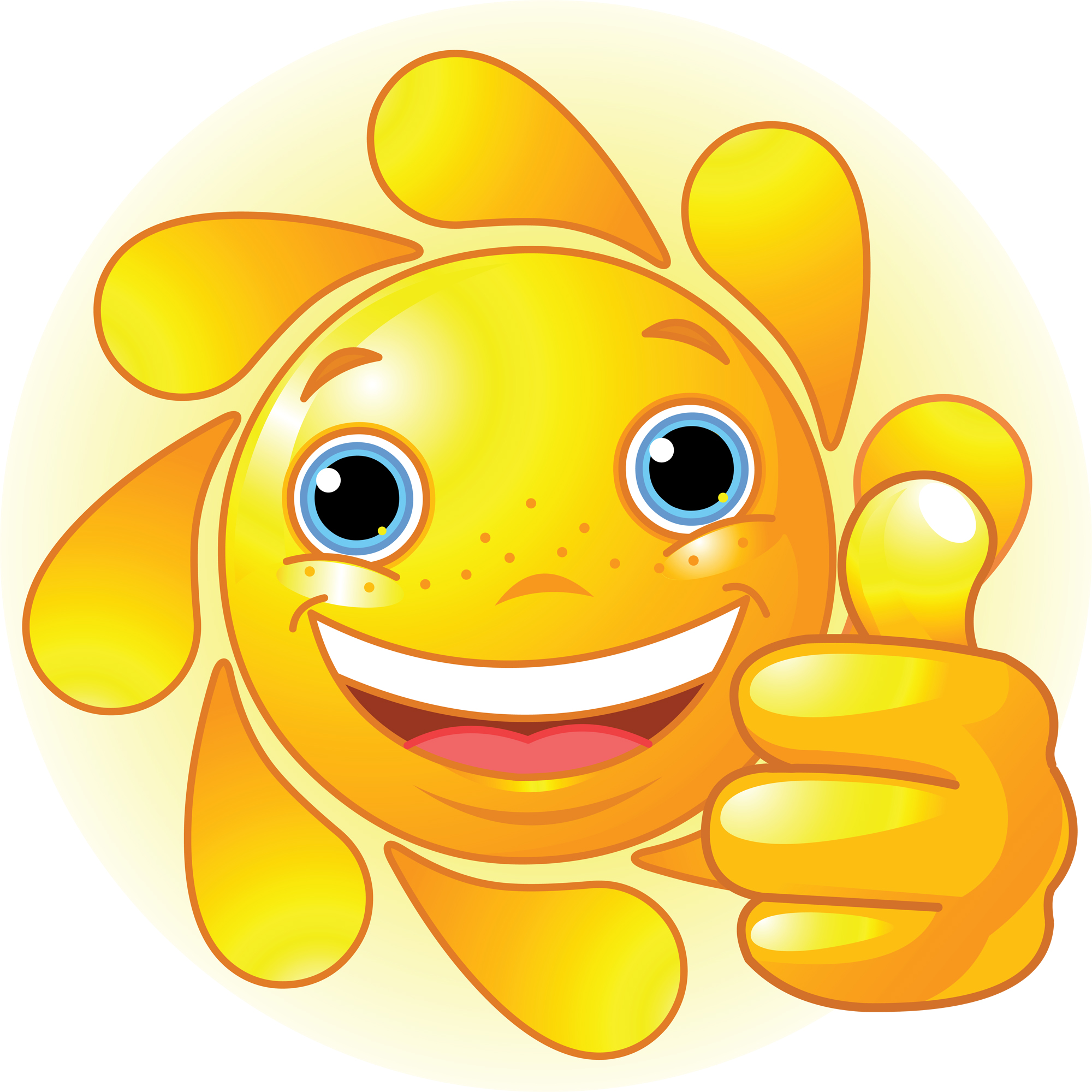 Smiling Sun Clip Art | Clipart library - Free Clipart Images
