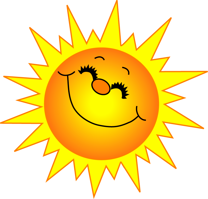 ... Smiling Sun Clipart - clipartall ...
