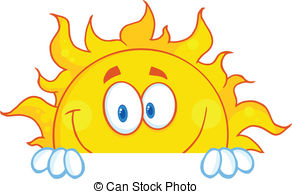 ... Smiling Sun Mascot Character - Smiling Sun Cartoon Mascot.