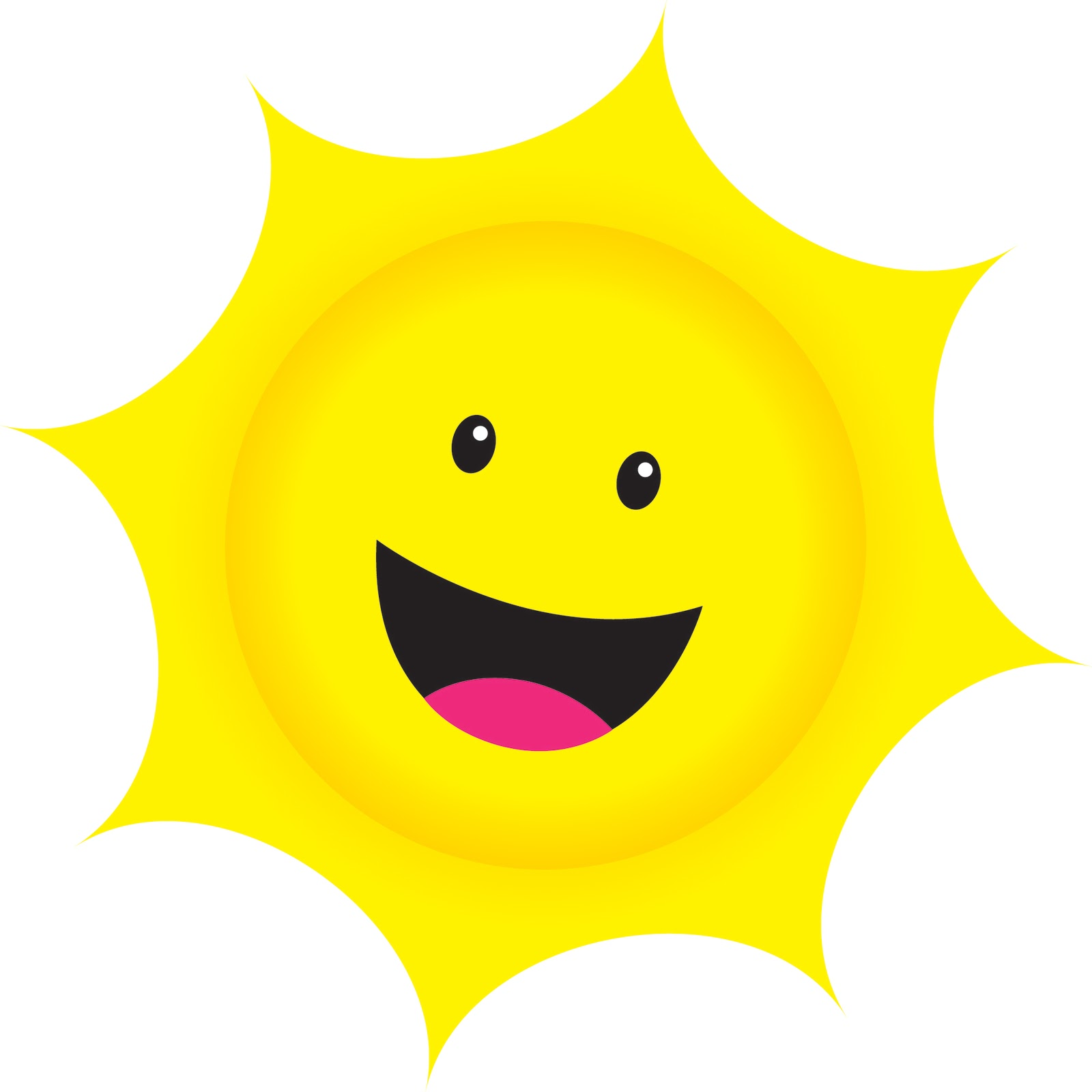 Smiling Sun Png .