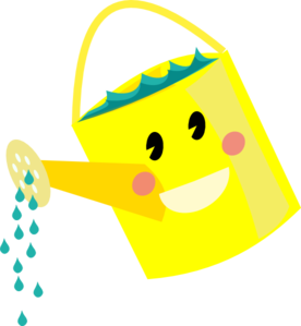 Smiling Watering Can Clip Art At Clker Com Vector Clip Art Online