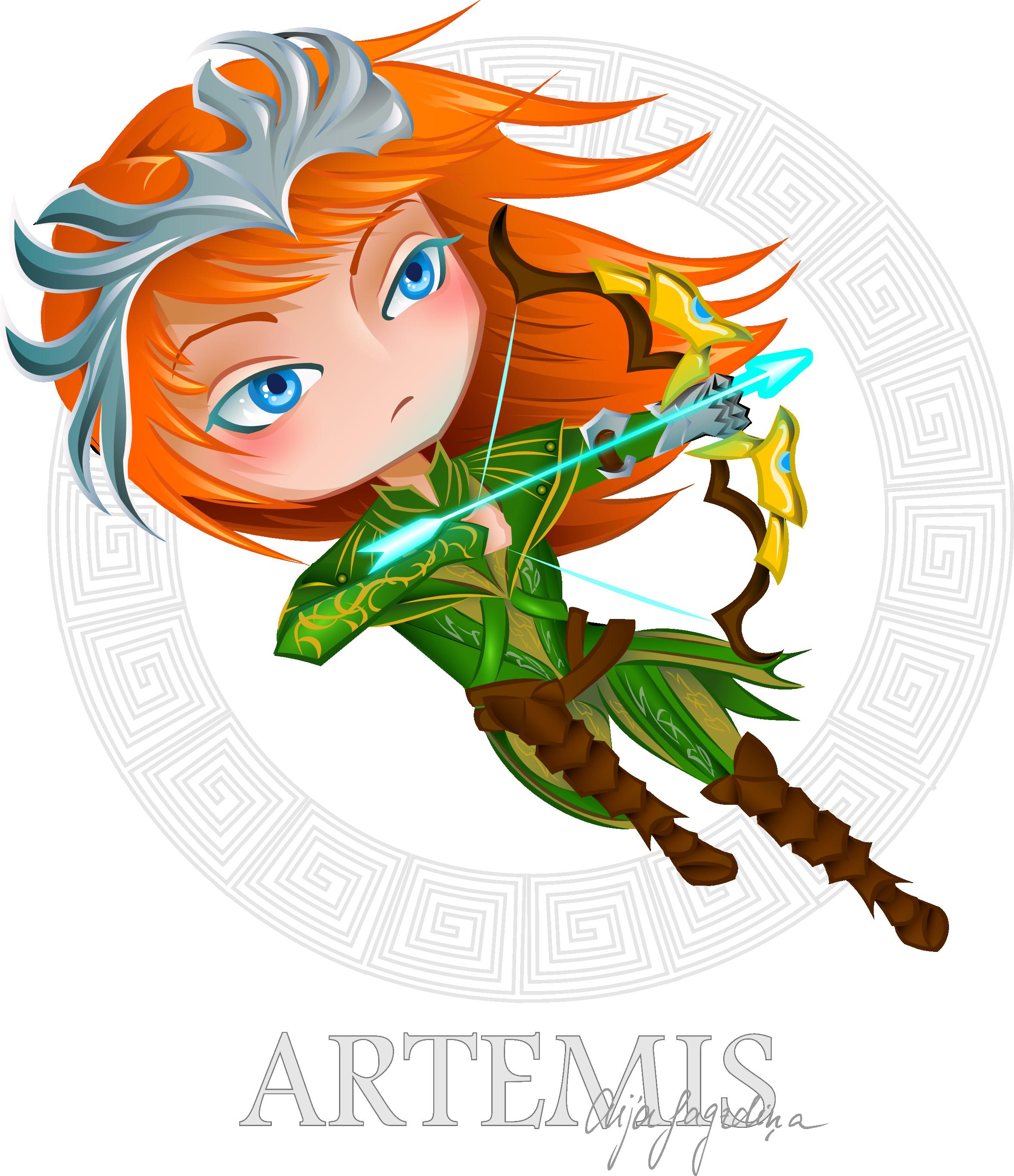 Artemis - Smite Fanart By Chirkucis.devi-Artemis - Smite fanart by chirkucis.deviantart clipartlook.com on @DeviantArt-20