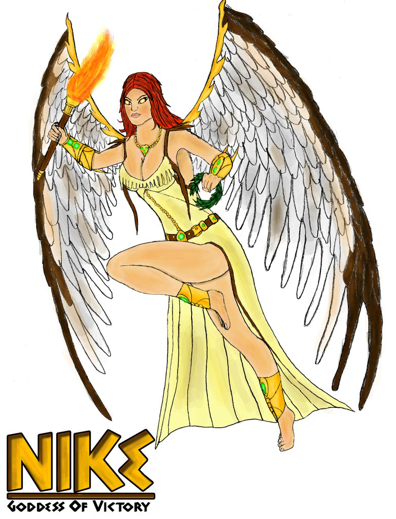 Smite God Idea - Nike Goddess of Victory by DaveSpectre122 ClipartLook.com